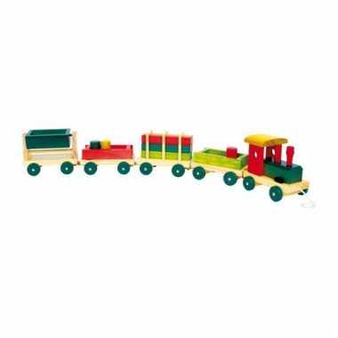 Speelgoed houten treinen