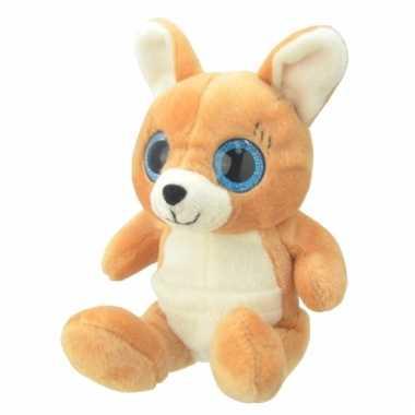 Speelgoed kangoeroe knuffel 19 cm