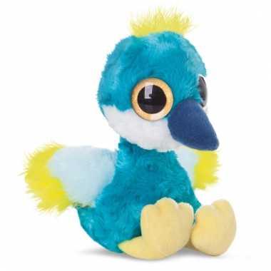 Speelgoed kraanvogel knuffel 20 cm
