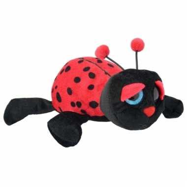 Speelgoed lieveheersbeestje knuffel 21 cm