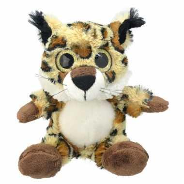 Speelgoed lynx knuffel 21 cm