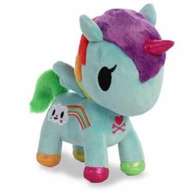 Speelgoed mint eenhoorn knuffel 25 cm