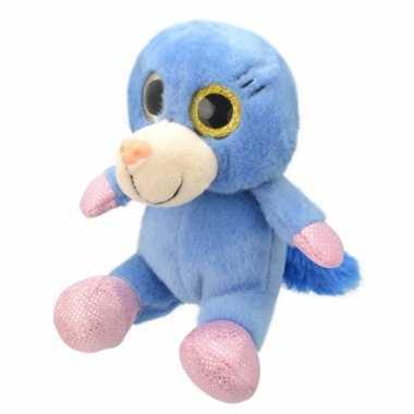 Speelgoed mol knuffel 18 cm