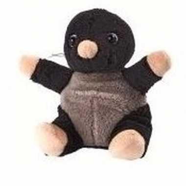 Speelgoed mol knuffeltje 14 cm