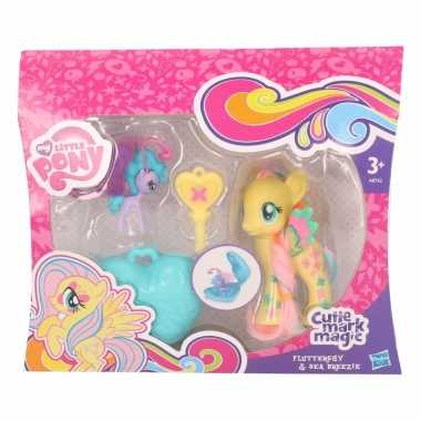 Speelgoed my little pony figuren geel