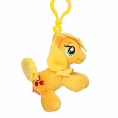 Speelgoed my little pony knuffel applejack 8 cm