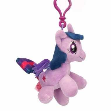 Speelgoed my little pony knuffel twilight sparkle 8 cm