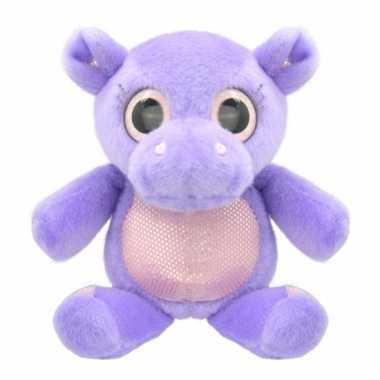 Speelgoed nijlpaard knuffel 18 cm