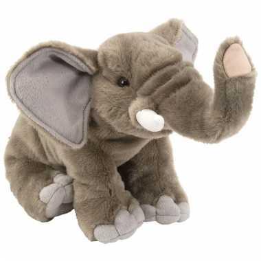 Speelgoed olifant knuffel 30 cm