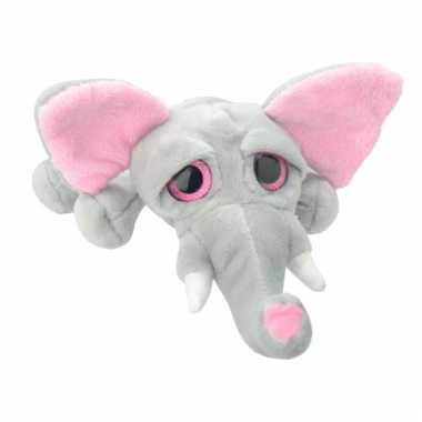 Speelgoed olifant knuffel 37 cm
