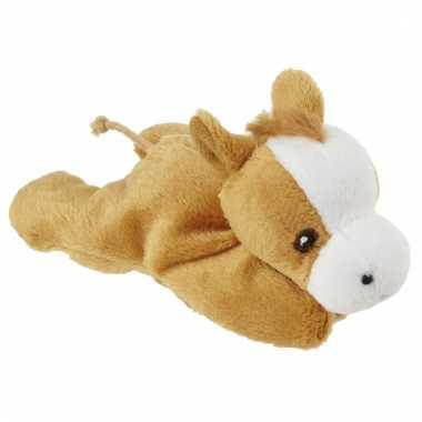 Speelgoed paardje knuffel 13 cm