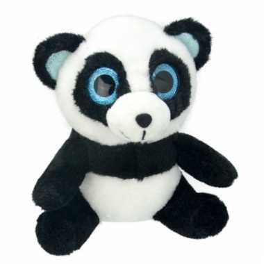 Speelgoed panda knuffel 18 cm