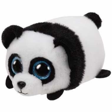 Speelgoed panda knuffel ty teeny puck 10 cm