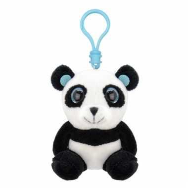 Speelgoed panda sleutelhanger 9 cm
