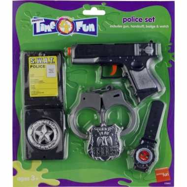 Speelgoed politie set
