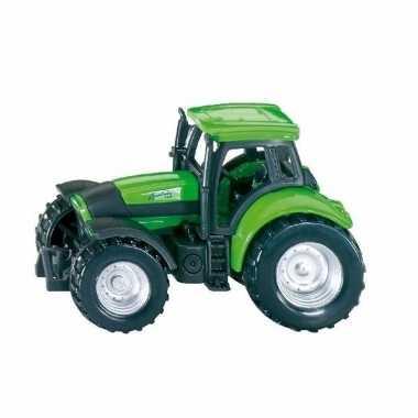 Speelgoed siku deutz tractor truck schaalmodel 7 cm