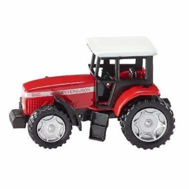 Speelgoed siku mf tractor truck schaalmodel 8 cm