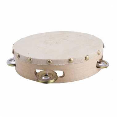 Speelgoed tamboerijnen met vel 16 cm