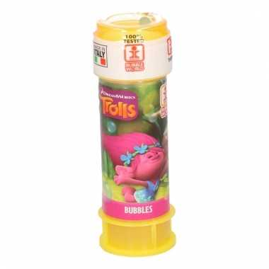 Speelgoed trollen bellenblaas 1 stuk