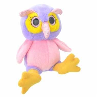 Speelgoed uil knuffel 18 cm