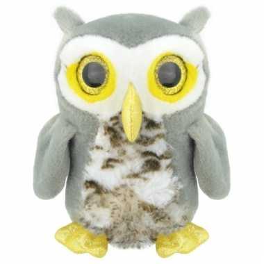 Speelgoed uilen knuffel 28 cm