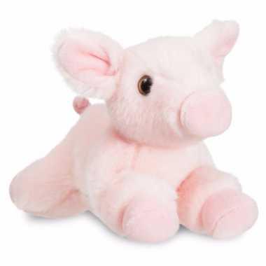 Speelgoed varken/big knuffel 28 cm