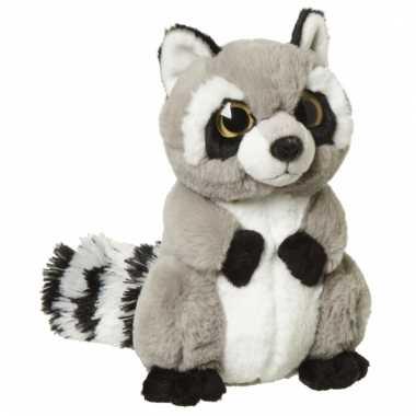 Speelgoed wasbeer knuffel 22 cm