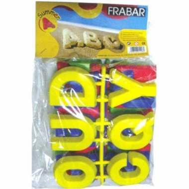 Speelgoed zandvorm letters