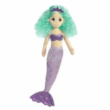 Speelgoed zeemeermin knuffel alexa 25 cm