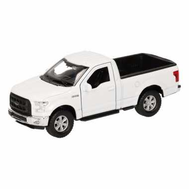 Speelgoedauto ford f-150 pick up wit 12 cm