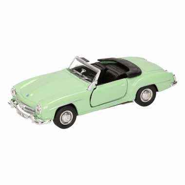 Speelgoedauto mercedes-benz 190sl 1955 cabrio mint 12 cm