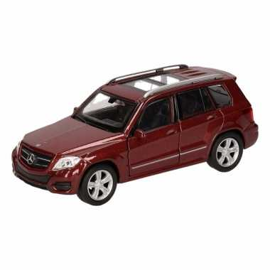 Speelgoedauto mercedes-benz glk bruin 12 cm