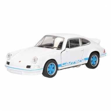 Speelgoedauto porsche carrera rs zwart 11,5 cm
