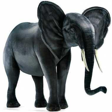 Supergrote olifant van pluche