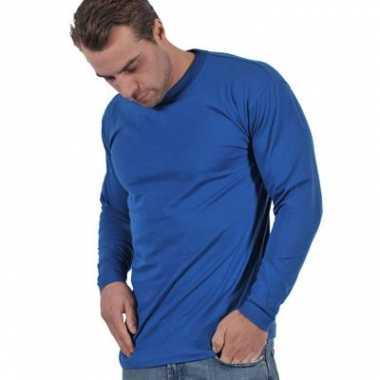 T-shirts grote maten lange mouw 4xl