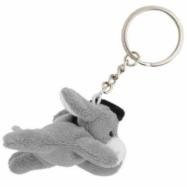 Tas sleutelhanger ezel 6 cm