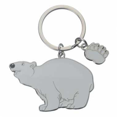 Tas sleutelhanger ijsbeer 5 cm