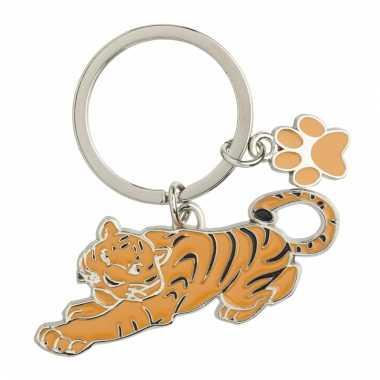 Tas sleutelhanger tijger 5 cm
