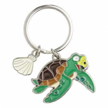 Tas sleutelhanger zeeschildpad 5 cm