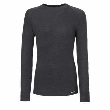 Ten cate antraciet kinder thermo shirt met col