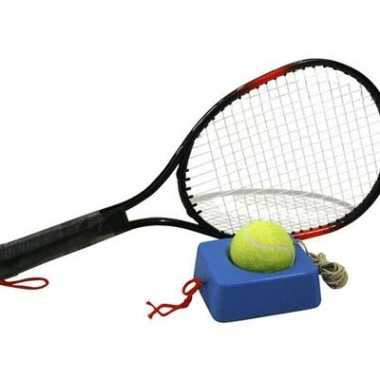 Tennis trainer met 4 meter touw + racket