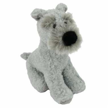 Terrier knuffelbeesten hond 17 cm