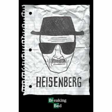 Themafeest heisenberg poster 61 x 91,5 cm