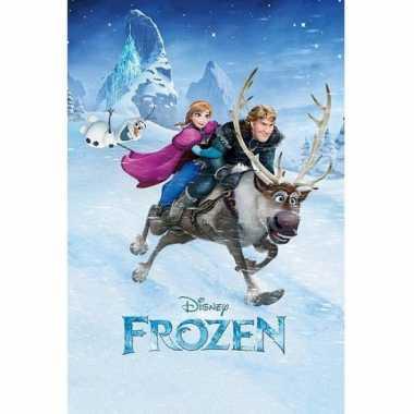 Themafeest poster frozen 61 x 91,5 cm