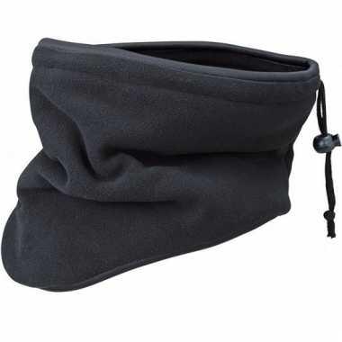 Thinsulate nekwarmers zwart