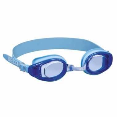 Tiener zwembril blauw vanaf 10 jaar