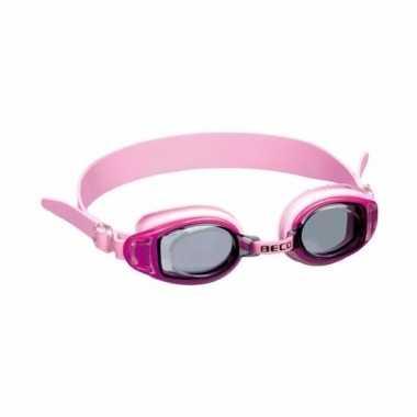 Tiener zwembril roze vanaf 10 jaar