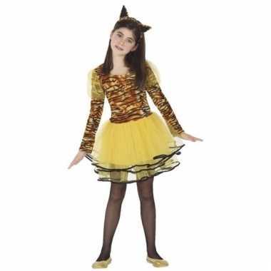 Tijgers cara verkleedkostuum voor meisjes