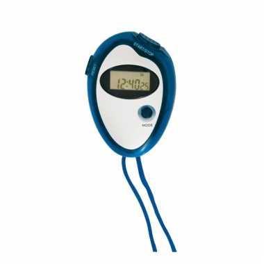 Timer stopwatch blauw