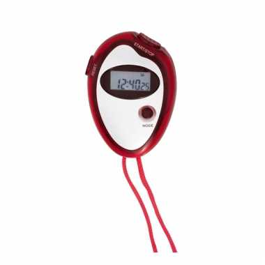 Timer stopwatch rood